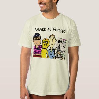 Matt&Ringo Drawn T-Shirt