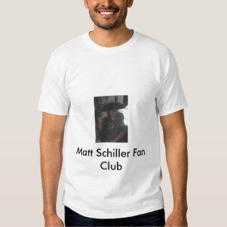 Matt Schiller Fan Club t-shirt