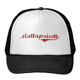 Mattapoisett Massachusetts Classic Design Mesh Hat