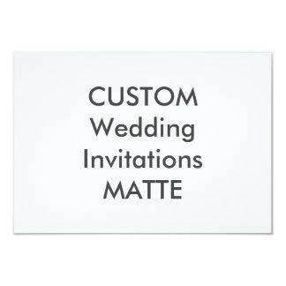 "MATTE 7.5"" x 5.5"" Wedding Invitations"