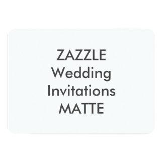 "MATTE 7"" x 5"" Wedding Invitations"