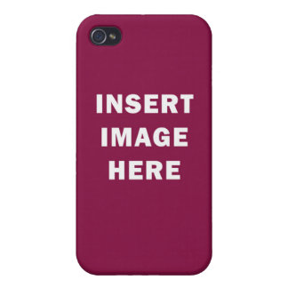 Matte iPhone 4 Case Custom Template Make Your Own