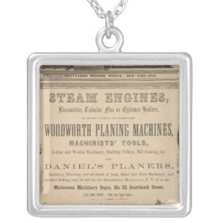 Matteawan Machinery Depot Silver Plated Necklace