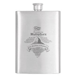 Matterhorn 150th Year Jubilee GREY Hip Flask