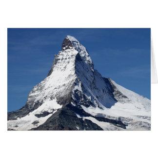 Matterhorn, Alps Card