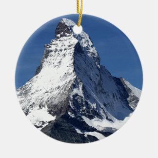 Matterhorn, Alps Christmas Ornaments
