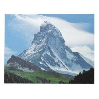 Matterhorn, Alps Notepad