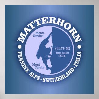 Matterhorn (Alps) Poster