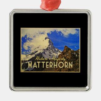 Matterhorn Alps Vintage Christmas Tree Ornament