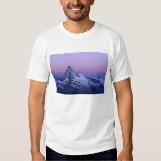Matterhorn at dawn, Zermatt, Swiss Alps, Tshirt