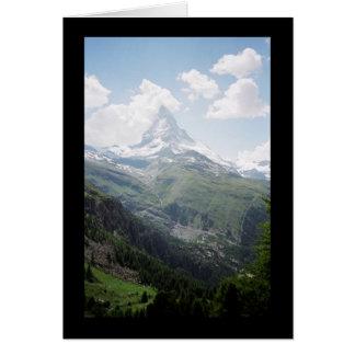 Matterhorn Beauty Card