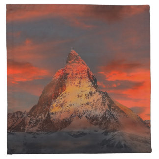 Matterhorn Printed Napkins