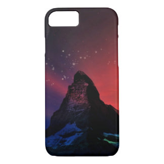Matterhorn colorful sky scenery iPhone 7 case
