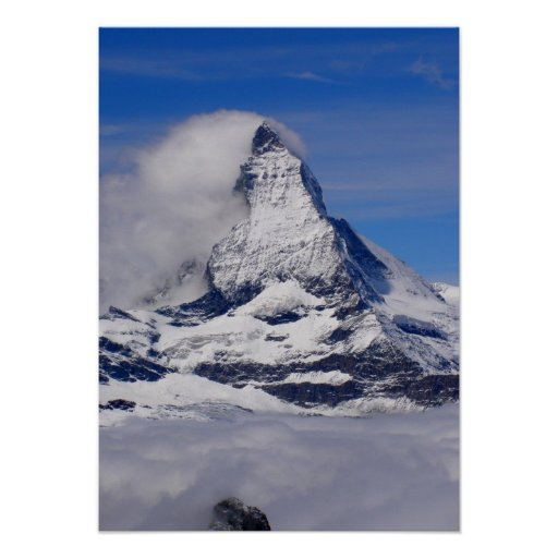 Matterhorn in Switzerland Poster