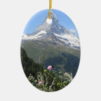 Matterhorn Mountain photo Christmas Ornament