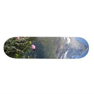 Matterhorn Mountain photo Custom Skateboard