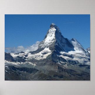 Matterhorn Swiss Alps Poster