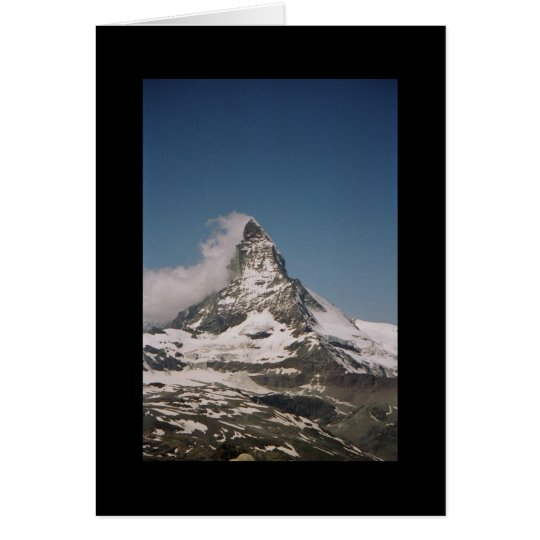 Matterhorn Switerland Card