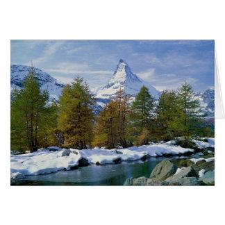 Matterhorn Switzerland Card