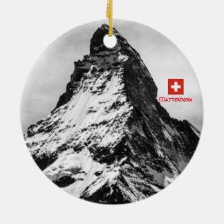 Matterhorn Switzerland Panoramic Ornament