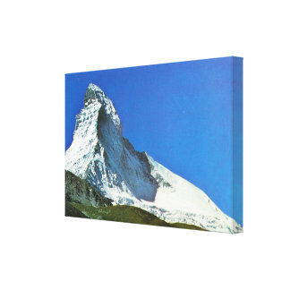 Matterhorn, Switzerland, Zermatt Canvas Print