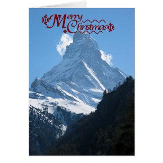 Matterhorn, Zermatt Card