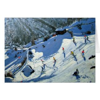 Matterhorn Zermatt Card
