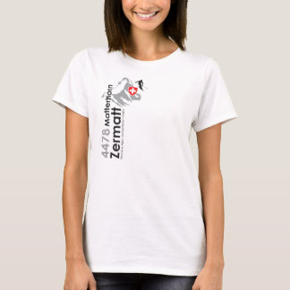 Matterhorn-Zermatt skiing T-Shirt