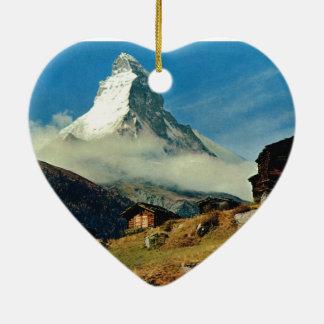 Matterhorn, Zermatt, Switzerland Christmas Ornament