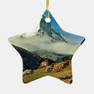 Matterhorn, Zermatt, Switzerland Christmas Ornament
