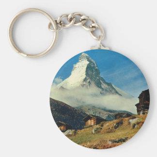 Matterhorn, Zermatt, Switzerland Key Ring
