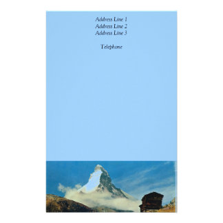 Matterhorn, Zermatt, Switzerland Stationery