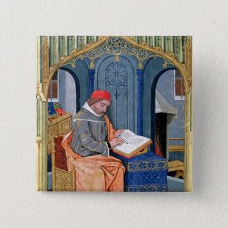 Matthaeus Platearius 15 Cm Square Badge