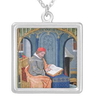 Matthaeus Platearius Silver Plated Necklace