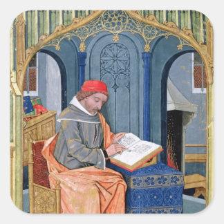 Matthaeus Platearius Square Sticker