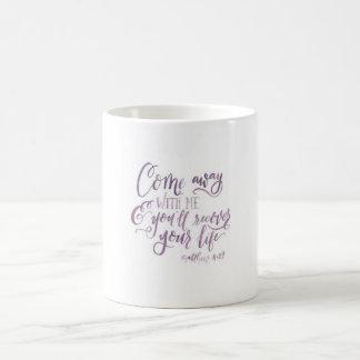 Matthew 11:28 Coffee Cup