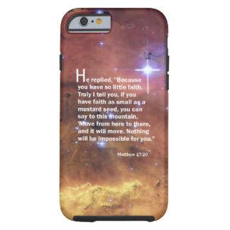 Matthew 17:20 tough iPhone 6 case