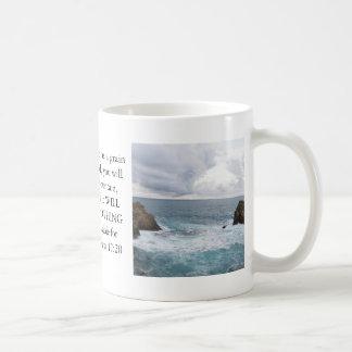 Matthew 17:20  Motivational Bible Quote Coffee Mugs
