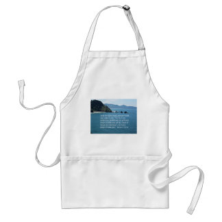 Matthew 25:40 And the King shall answer... Standard Apron