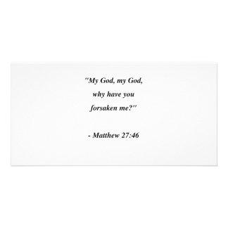 MATTHEW 27:46 PHOTO CARDS