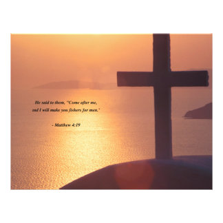 MATTHEW 4:19 21.5 CM X 28 CM FLYER