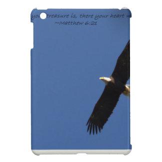 Matthew 621 Eagle w frame.jpg iPad Mini Cases