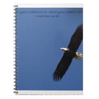 Matthew 621 Eagle w frame.jpg Notebooks