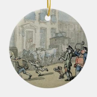 Matthew Bramble's Trip to Bath: Arrival at Bath (w Christmas Ornament