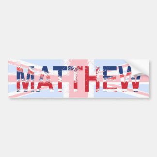 Matthew Bumper Sticker