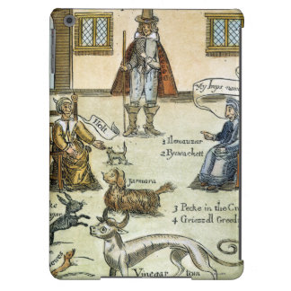 Matthew Hopkins (D 1647) Cover For iPad Air
