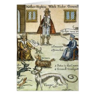 Matthew Hopkins (D 1647) Note Card