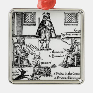 Matthew Hopkins, the Witchfinder General Christmas Ornament