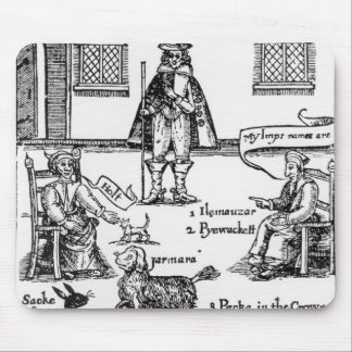 Matthew Hopkins, the Witchfinder General Mouse Mat