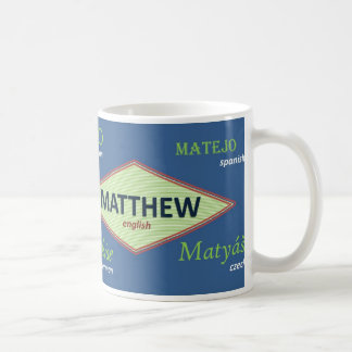 Matthew International Name Mug